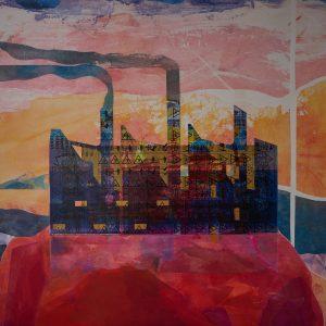 02-Sogni e Inquinamento-100x100cm