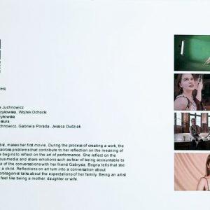 "Bogna Juchnowicz "" STILL FROM MOVIE "" FAILURES"""