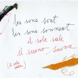 Carla Bertola - Il Suono suona 25x16 2016