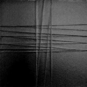 LV#01,2019 vernicie acrilica su carta su legno cm.40x40
