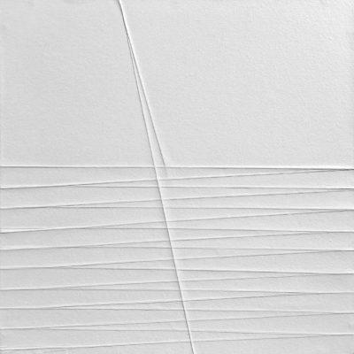 LV#02,2019 vernicie acrilica su carta su legno cm.40x40