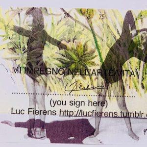 Luc Fierens MI IMPEGNO NELL'ETERNITA'