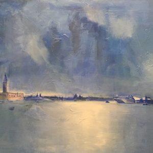 Venezia tecnica mista su tela 70x50 2019