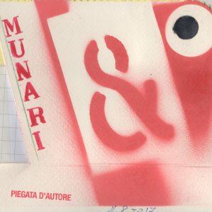Walter Pennacchi | MUNARI PIEGATA D'AUTORE | 2017, Stampa su cartoncino